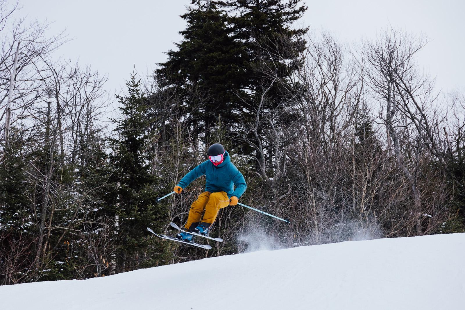 skiing, the ski monster, ski testing, fischer