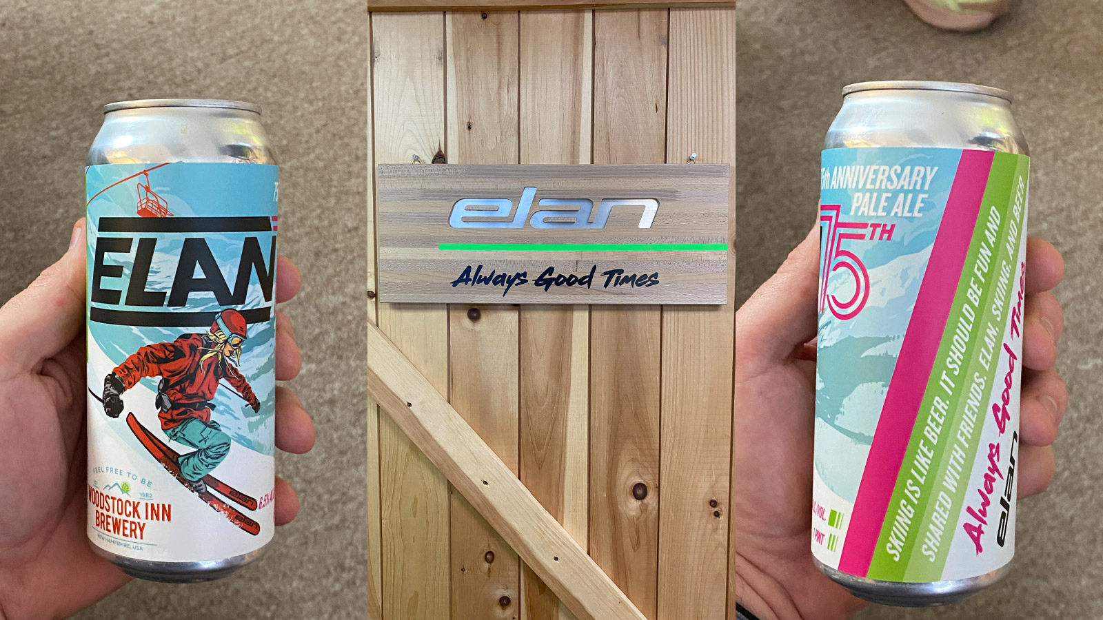 Elan, beer, apres ski, apres, craft beer, the ski monster
