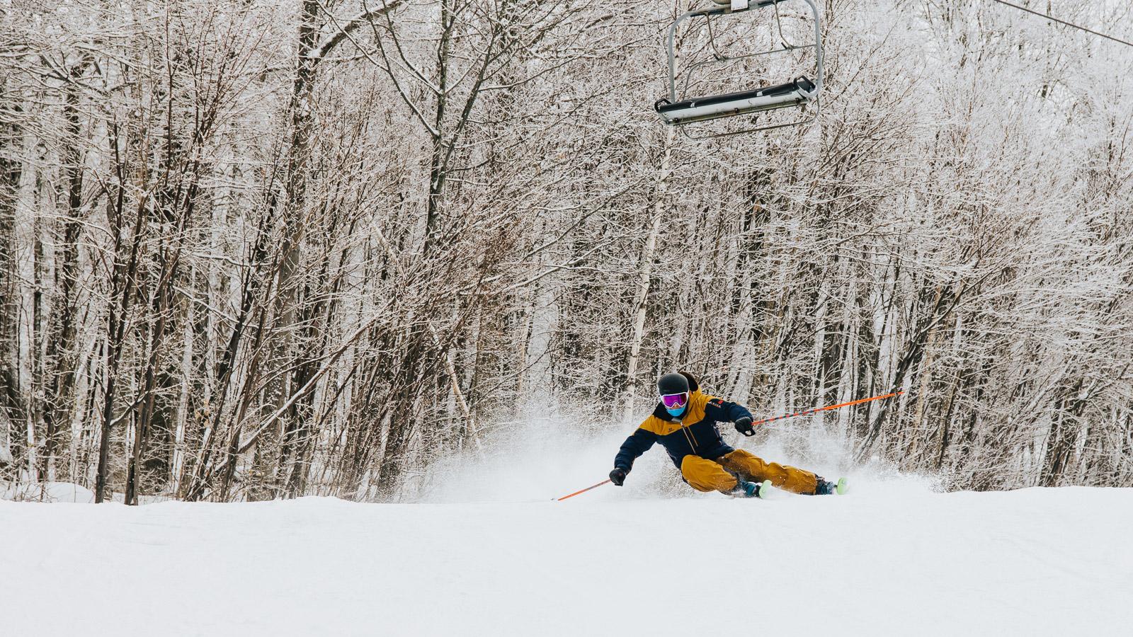 skiing, ski, elan ripstick 96, the ski monster, Sunapee