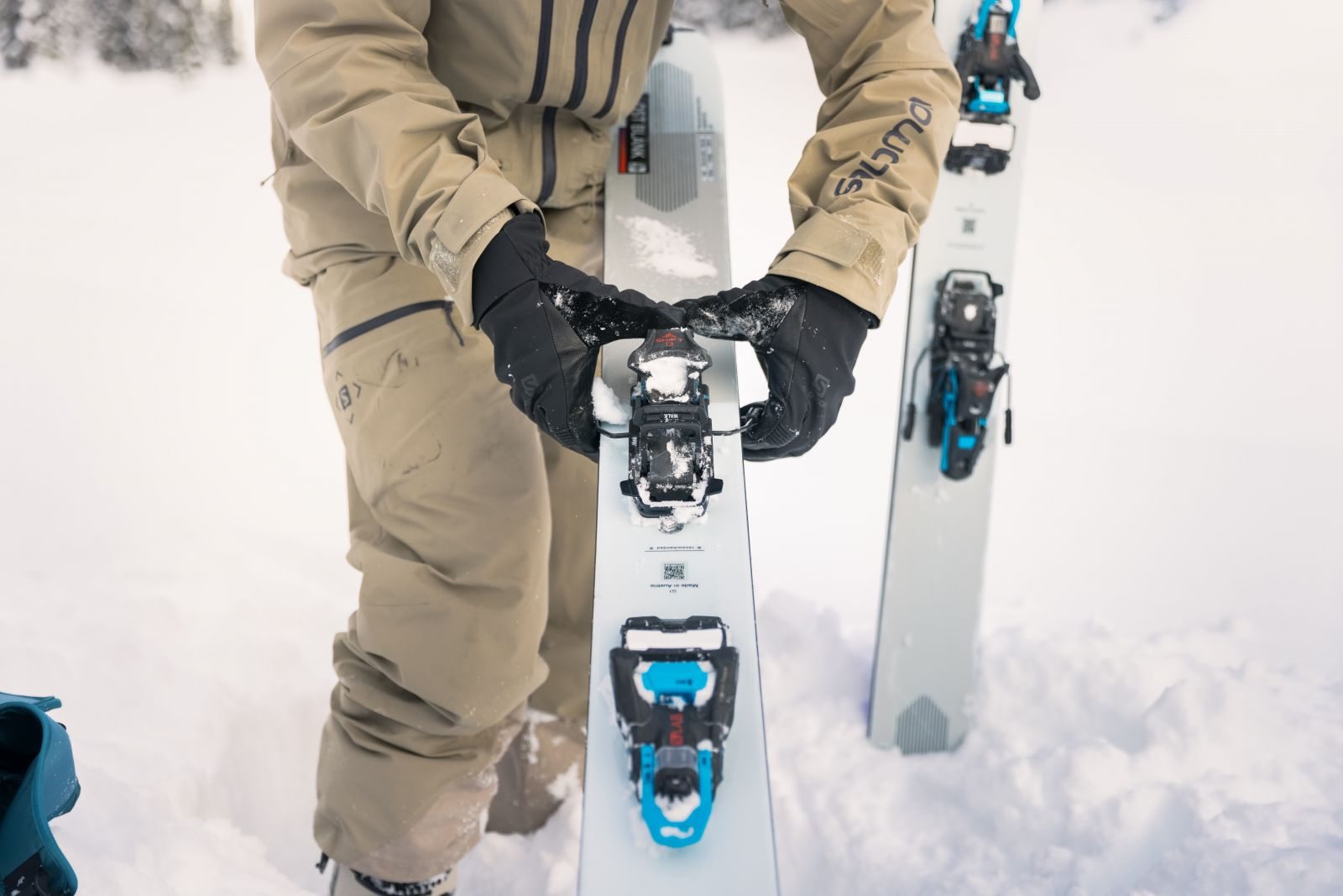 Switching from hike to tour on Salomon Shift binding