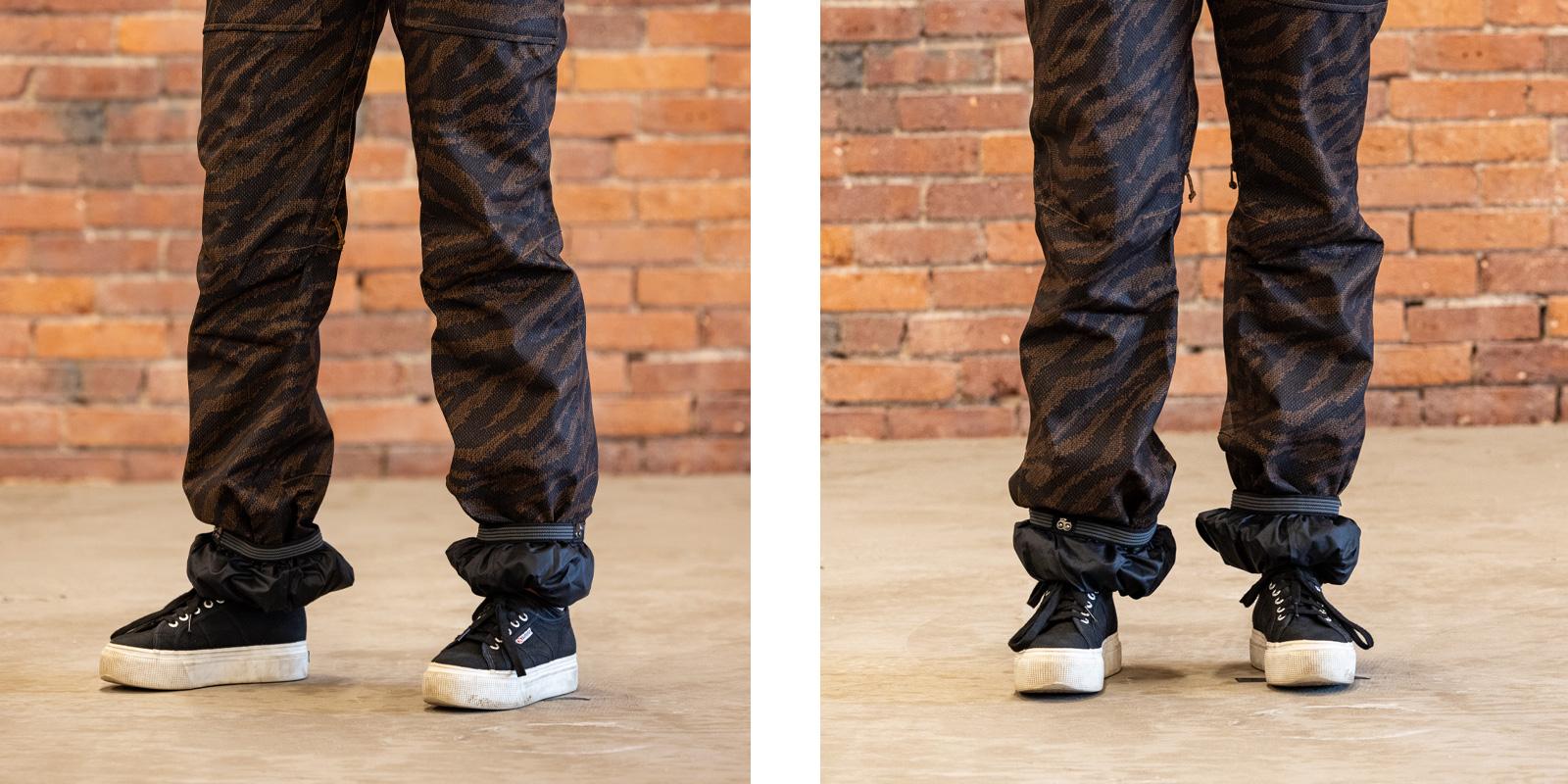 How Ski Pants Should Fit Cuffed