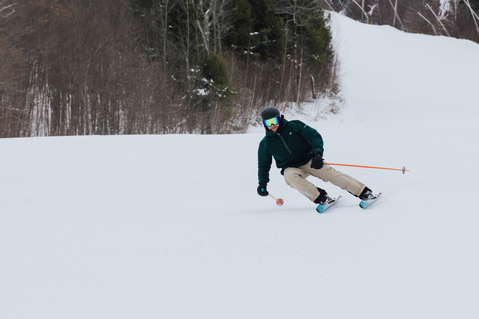 Atomic Bent Chetler 100 Ski Test Intermediate Skier