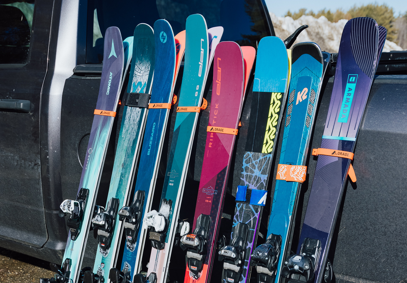 Best in test women's all mountain skis
