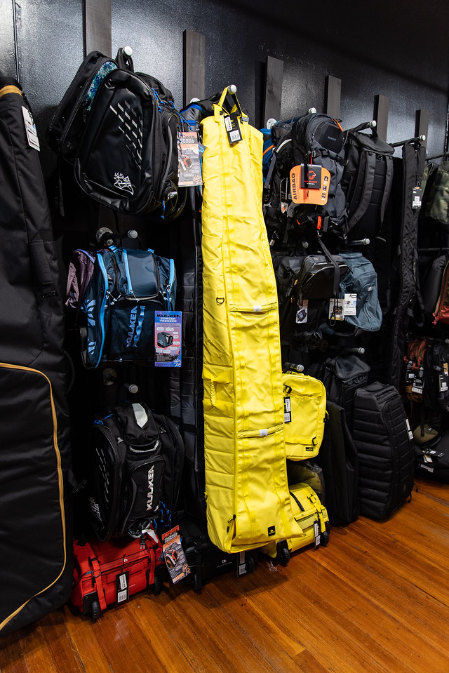 what to use skiing double ski bag