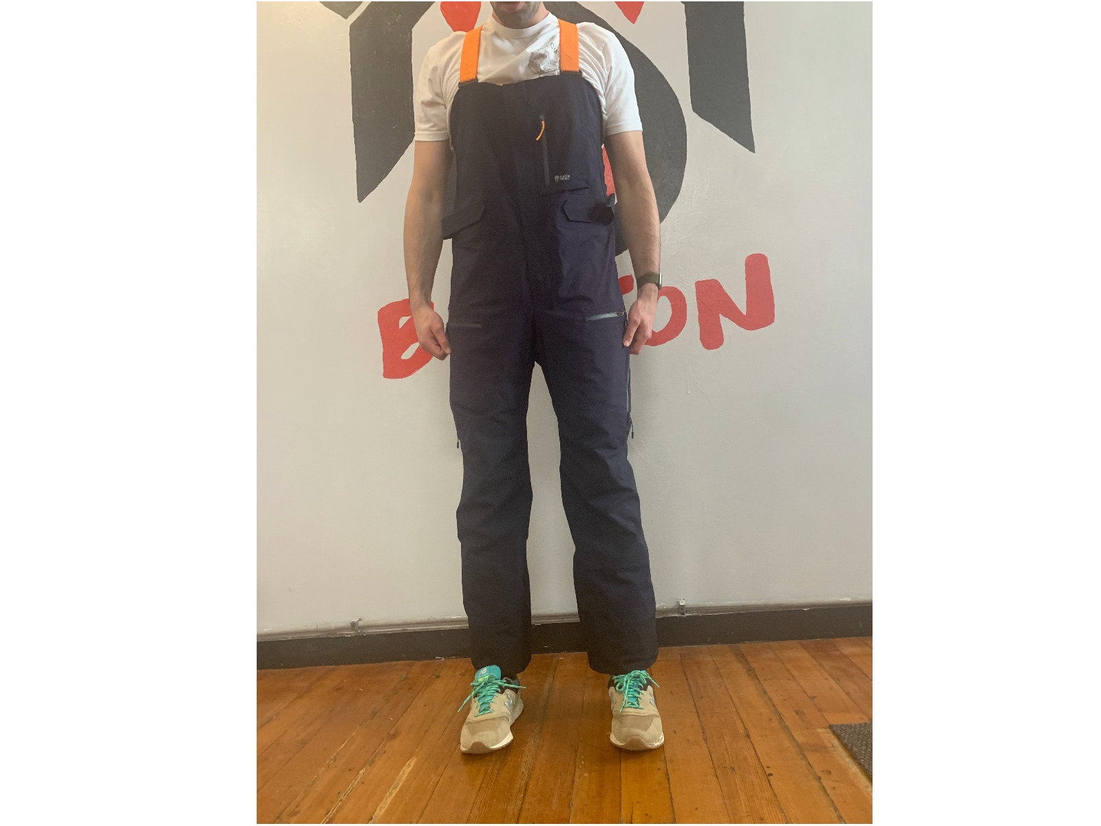 Snow Pants with Suspenders