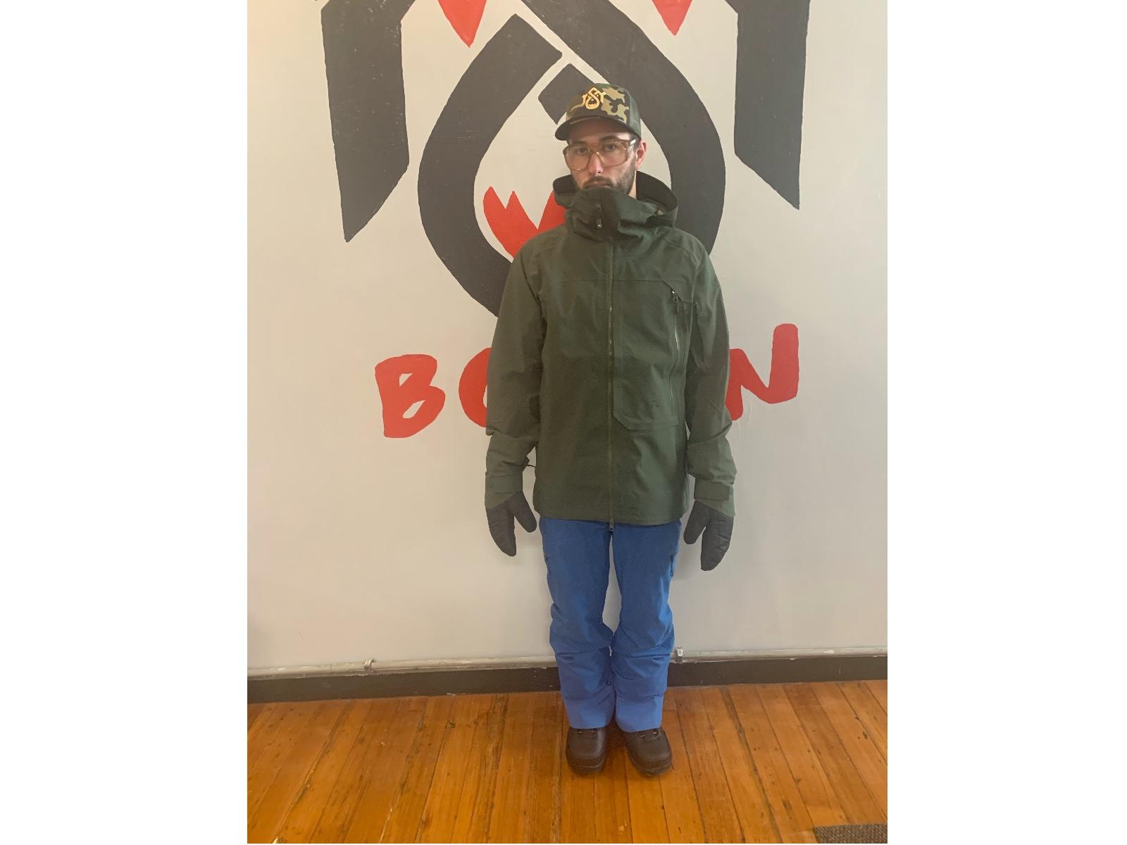 Ski Jacket With Gloves