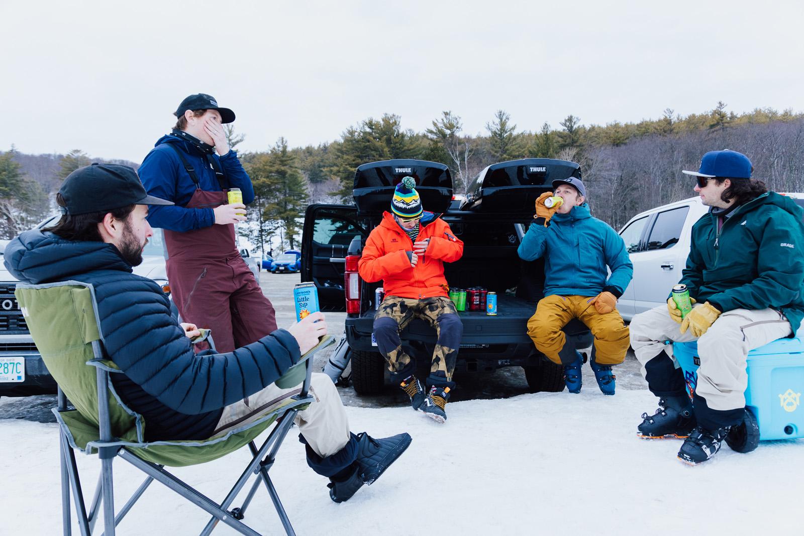 skiing, ski test, ski testing, fischer, the ski monster, apres ski, apres, beer, Lawsons finest liquids