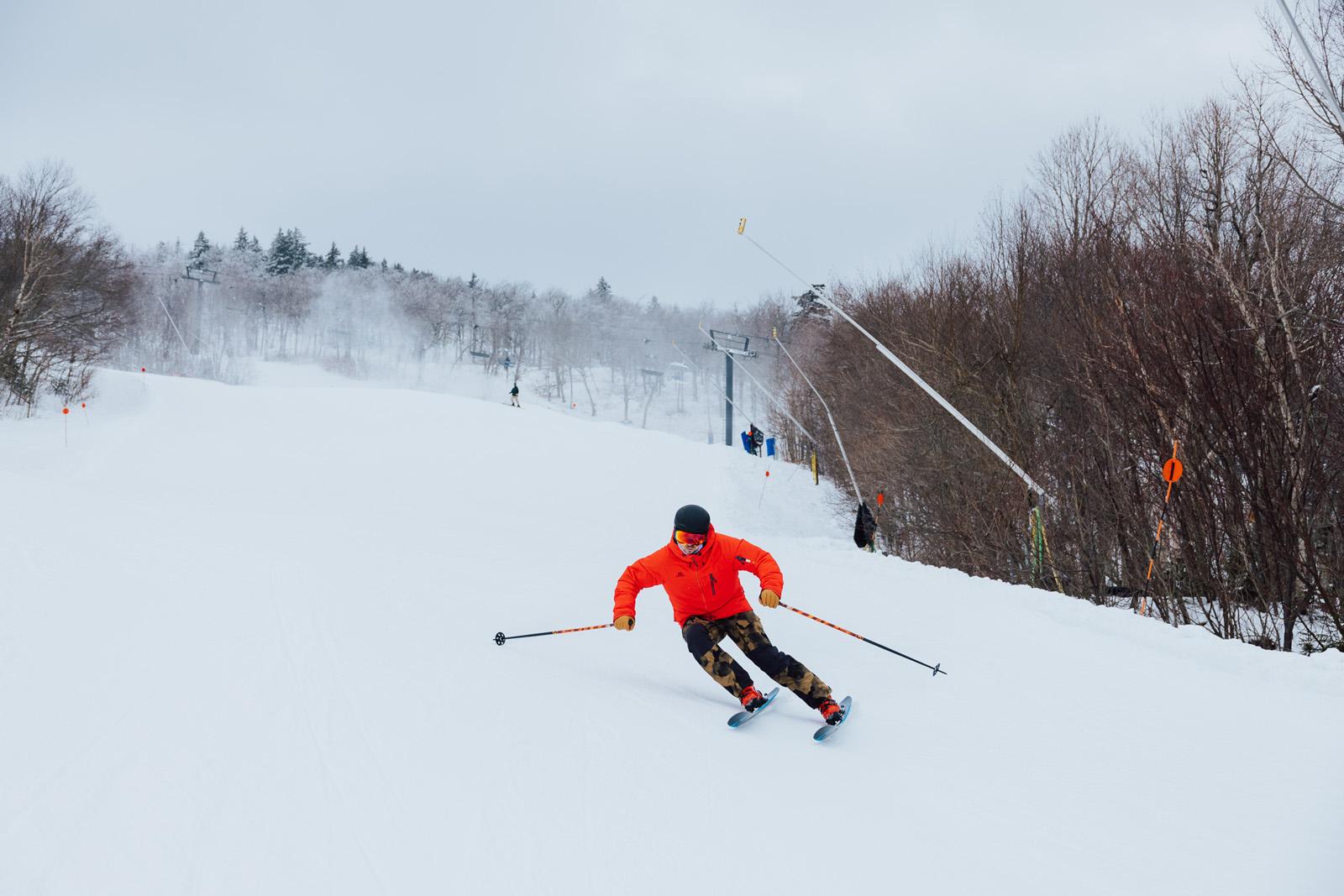 skiing, ski test, ski testing, fischer, the ski monster