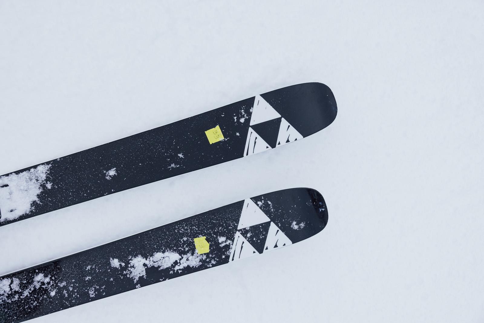 the ski monster, skiing, ski testing, sunapee, fischer