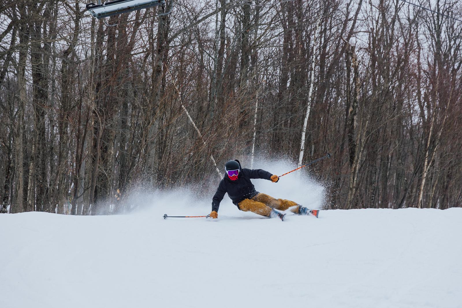 the ski monster, ski testing, ski test, blizzard skis, Nordica enforcer, elan ripstick, Volkl mantra