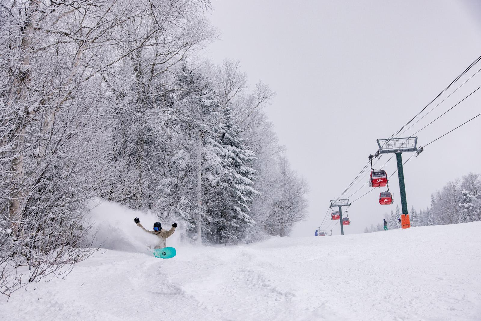 Neil Soucy, Stowe Vermont, Burton snowboards