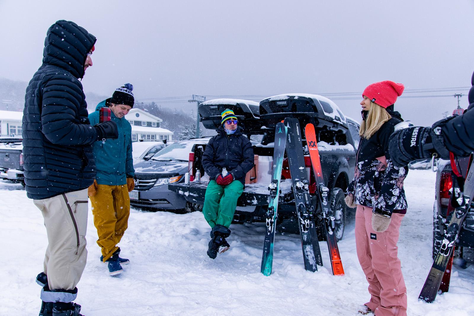 apres ski, apres skiing, the ski monster, 2021, stowe vt