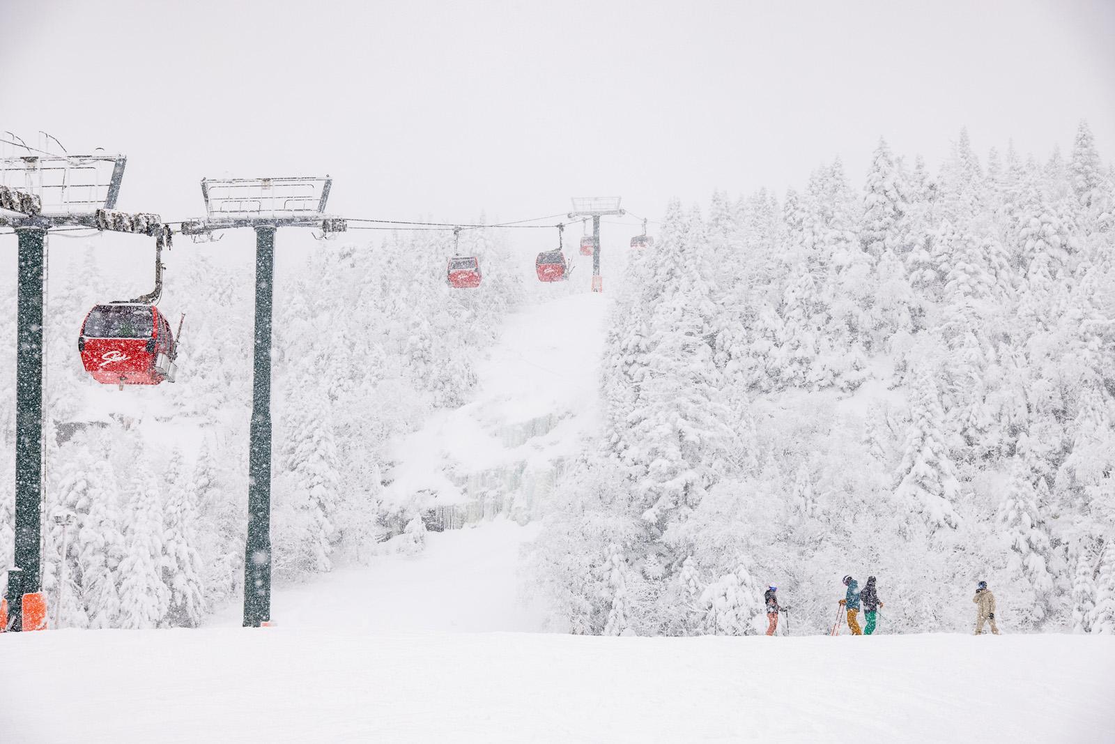 atomic maverick, the ski monster, stowe Vermont